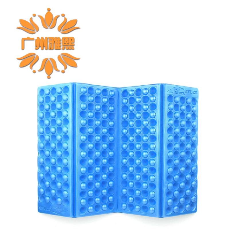 Ryder ryder outdoor portable folding seat honeycomb portable cushion belt cloth storage bag(China (Mainland))