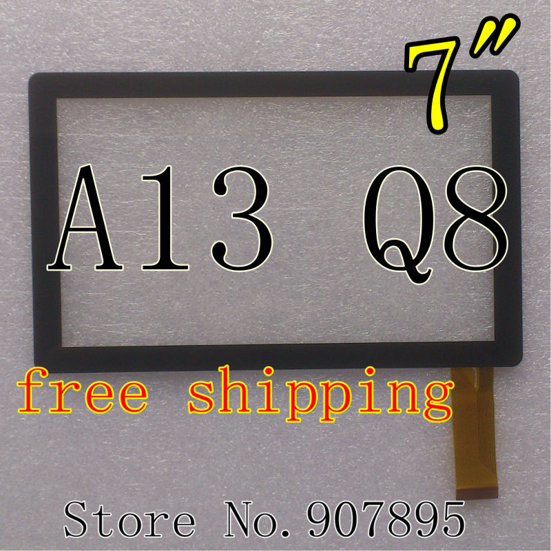 """Гаджет  MINIMUM $3 7inch 7"""" capacitive panel touch screen digitizer glass for All Winner A13 Q8 Q88 Tablet PC MID BSR028-V3 KDX CZY6075A None Компьютер & сеть"""