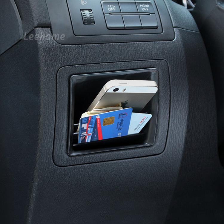 Car styling car central control storage box car glove box for 2 5 box auto