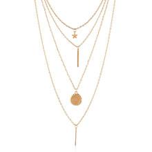 Moda urok ZA Maxi Chunky Collar Choker naszyjniki dla kobiet złoto srebro dziewczyny łańcuch biżuteria krótkie akcesoria Brincos 2019(China)