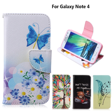 "Buy Stand Case coque Samsung Galaxy Note 4 Case fundas Samsung Note 4 Case Cover Note 4 IV N9100 N9108 5.7"" + Card Holder for $3.39 in AliExpress store"
