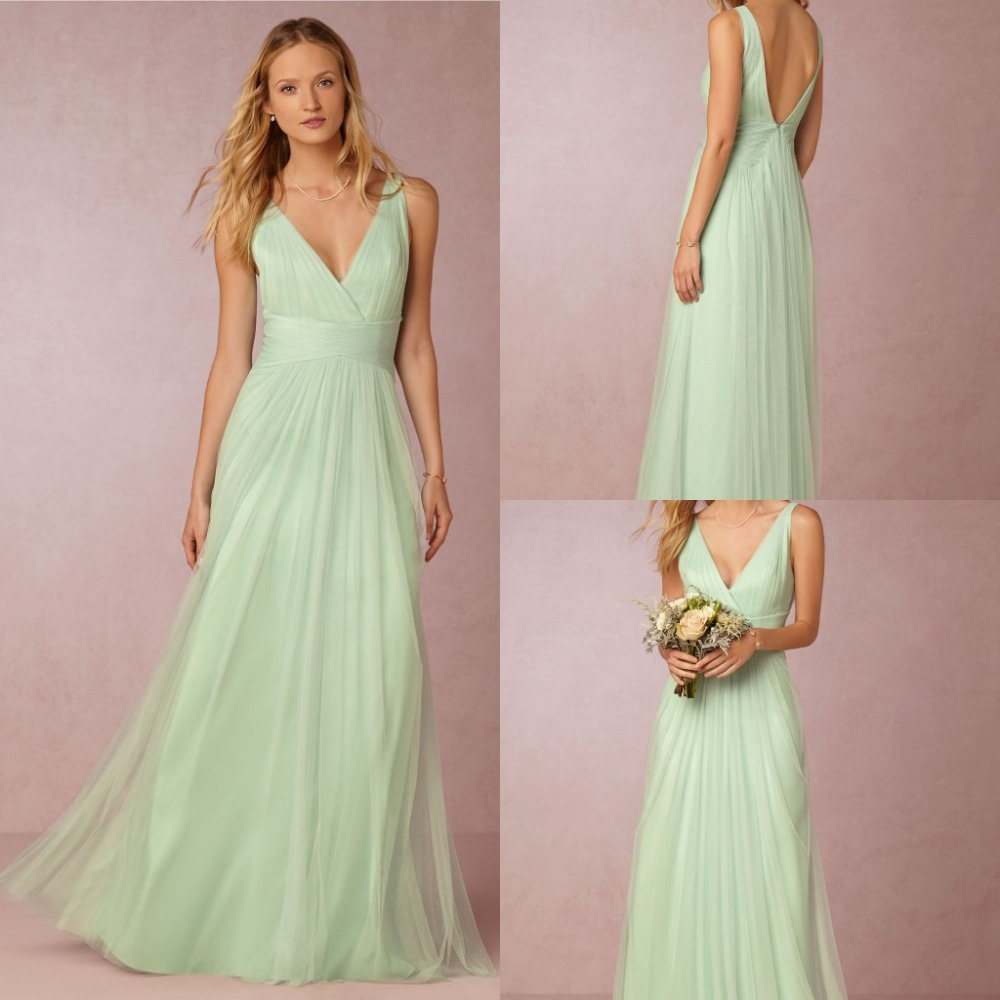 2015 new bridesmaid dresses plus size cheap simple a line for Cheap simple plus size wedding dresses