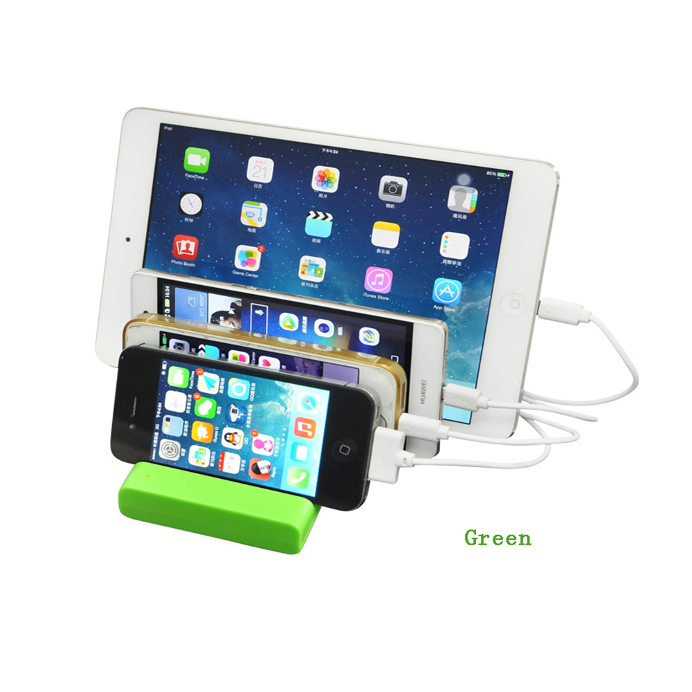 5V/2.1~1A 4 USB Port EU/US/UK Phone Tablet Holder Charger Charging Dock Docking Station For Iphone 4s/6/6s/Plus Lumia 640/XL(China (Mainland))