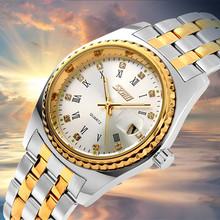 Marca de lujo fecha Auto relojes de pulsera hombres roleXwatchfully acero inoxidable completa 30 M impermeable militar sport reloj de cuarzo