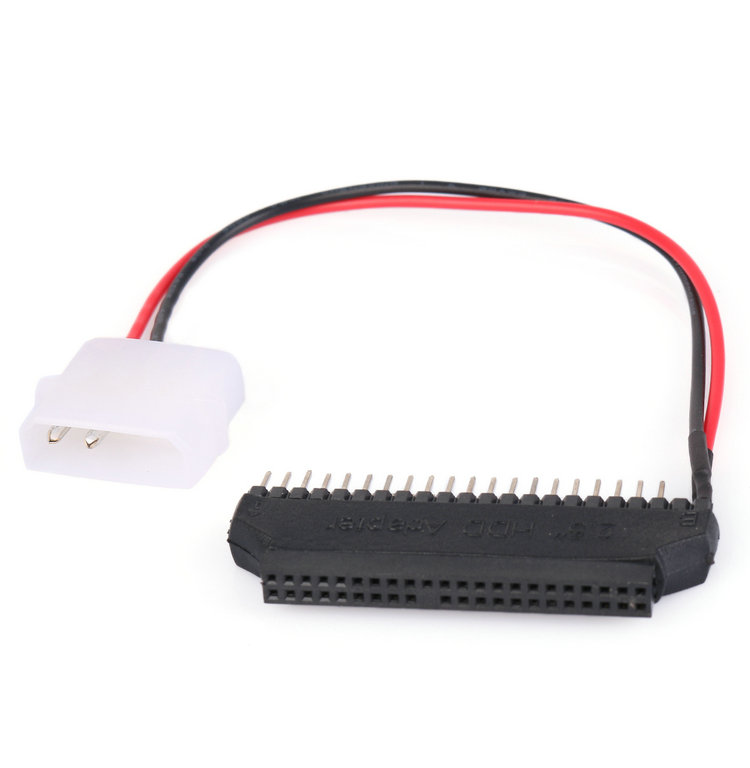 For Computers Car PCs IDE 2.5 to 3.5 Hard Disk Converter Adapter Power Cable 44 pin to IDE 40 pin(China (Mainland))