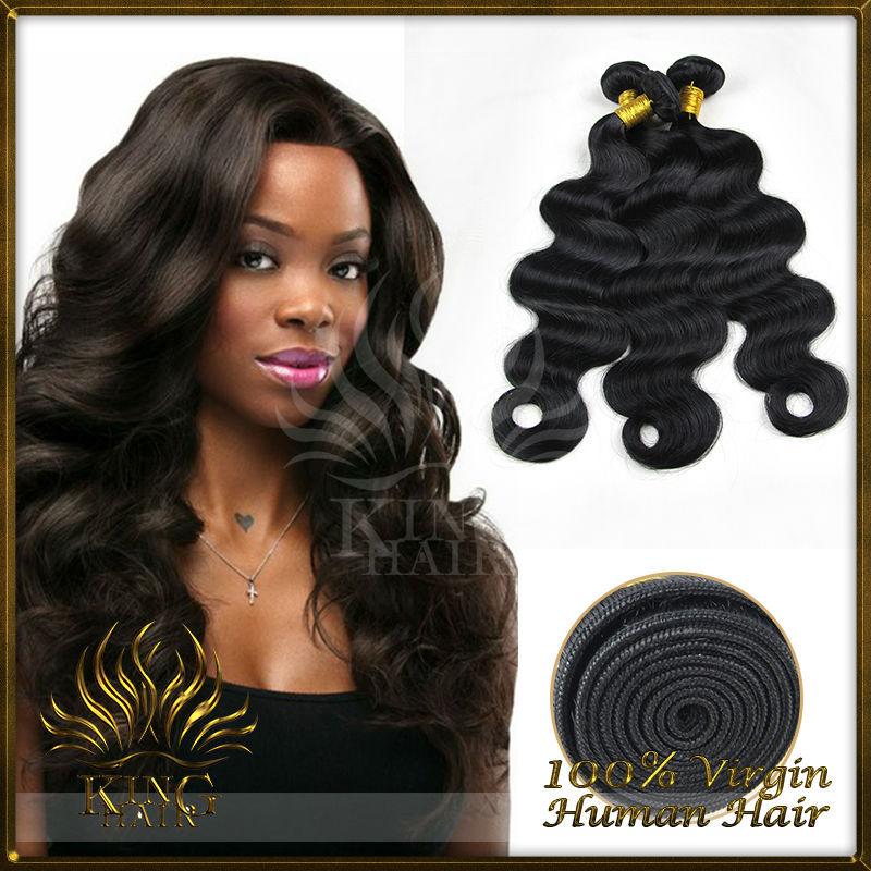 King Hair Brazilian Hair Weave Bundles Mix 3 Bundles a Lot Brazilian Hair Bundles Free Shipping Mink Brazilian Hair(China (Mainland))