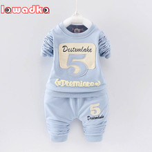 Buy Baby Boys Girls Clothing Set 5 Pattern Children Set Kids Cartoon Clothes Casual Suits for $9.99 in AliExpress store