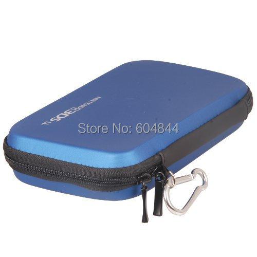 DGOO Hard Travel Carry Carrying Case Cover Bag Pouch Skin Nintendo 3DS XL/ LL blue - Dingoo Digital Technology Co.,ltd store