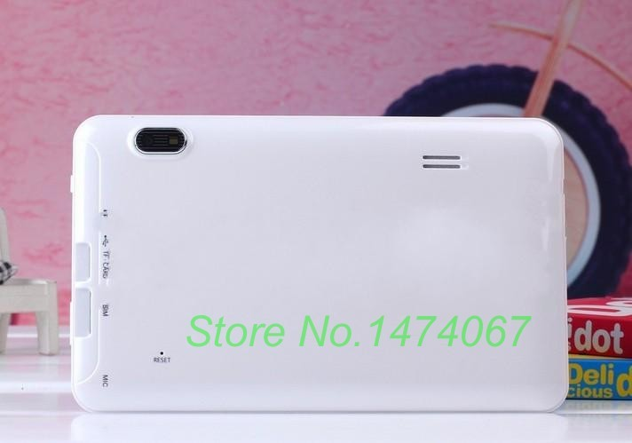 High quality Build in SIM Phone Call 7inch Tablet Android Tablet Quad Core+allwinner A33+Android 4.2+WIFI+Dual Camera 512MB/4GB