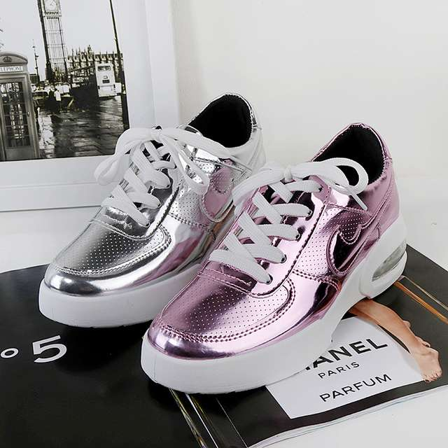 Hot spring 2016 women's jogging shoes walking shoes, comfortable outdoor air Trainers Breathable British Style Basket Femme(China (Mainland))