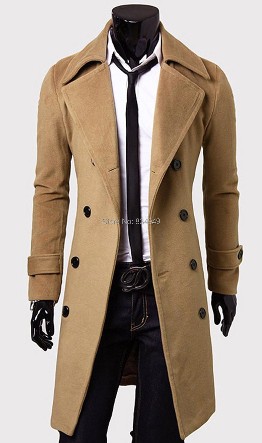Popular Men Coat Brown-Buy Cheap Men Coat Brown lots from China