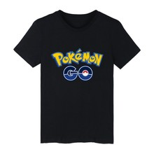 Short Sleeve Men Women Fitness Sports Running Casual T-Shirt Pokemon Go Game Team Mystic Print Letter Cotton Men Women T-shirts