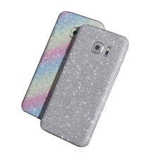 3D Bling Shin sparking glitter Skin Full Body Sticker Vinyl Wrap stickers adesivos decorativos tocas for Samsung galaxy S7(China (Mainland))