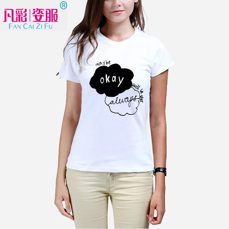 Star Wars printed tshirt fashion lady's T-shirt Can customize according to their own image leisure t shirts women clothes(China (Mainland))