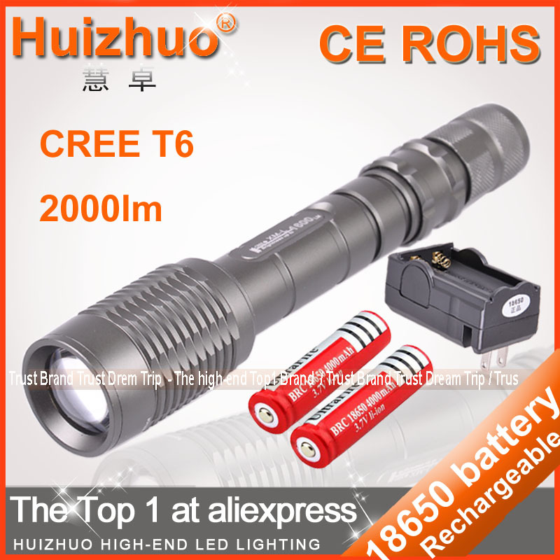 Фонарик ] 10pcs/lot Z6/Z5 5 2000 CREE xm/l T6