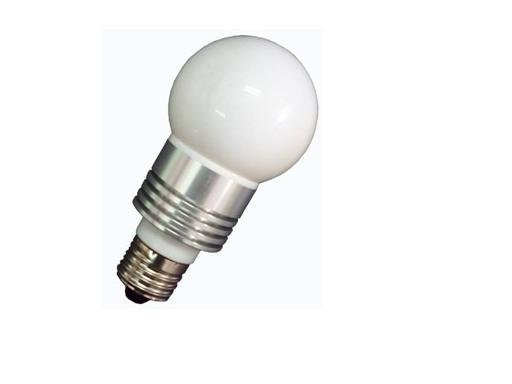 E14/E26/E27 base(please specify)3*1W led bulb;cool white;P/N:QP3W009