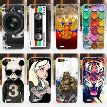 HOT! FOR ZTE Blade X7 D6 V6 Case Cover Fashion Painted ZTE Blade X7 Cell Phone Protective Back Case Cover FOR ZTE X7 D6 V6