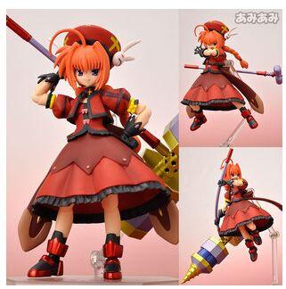 figma 052 anime Magical Girl Lyrical Nanoha Vita action figure toy doll for gifts(China (Mainland))