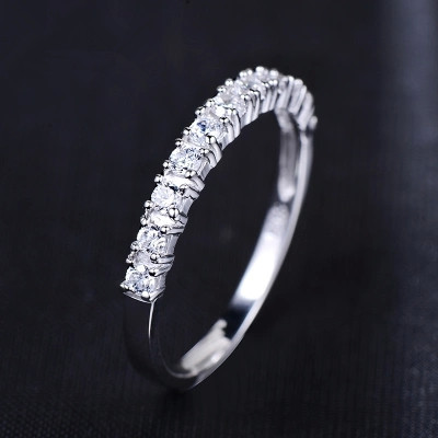 Lose money promotion wholesale new arrival super shiny zircon & 925 sterling silver finger rings jewelry 1pcs/lot(China (Mainland))