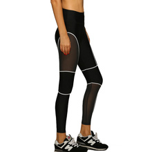 2016 Spring-Autumn Women's Sport Leggings Fitness High Waist Elastic Women Leggings Workout Leggins Fitness Clothing Gym Pants(China (Mainland))