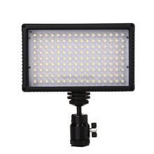 On-Camera 144 Bi color LED Video Light Lamp  Dimmable for Canon Nikon Pentax DSLR Camera Video Camcorder VL-144D
