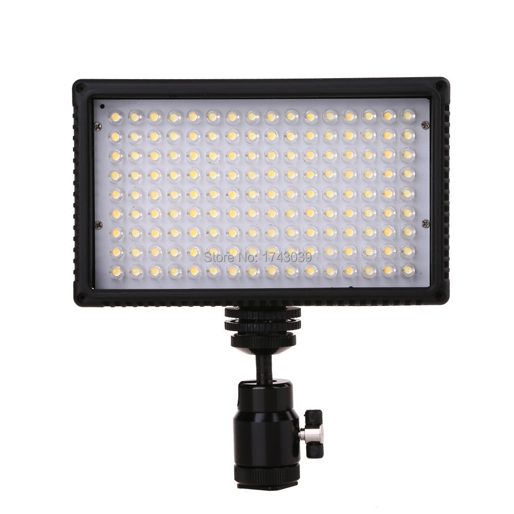 On-Camera 144 Bi color LED Video Light Lamp Dimmable for Canon Nikon Pentax DSLR Camera Video Camcorder VL-144D(China (Mainland))