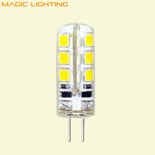 10Pcs/Lot G4 LED 12V Lamp DC Led Bulb Light 1.5W 3W 5W Replace Halogen Lamp 360 Beam Angle Free Shipping