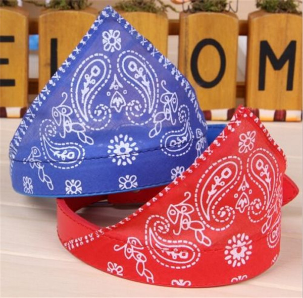 SALE! 1 pc Adjustable Bandana for Dog Puppy Cat Pet Products Collar Scarf Pet Accessories Choose From Black, Red, Blue Or Green(China (Mainland))