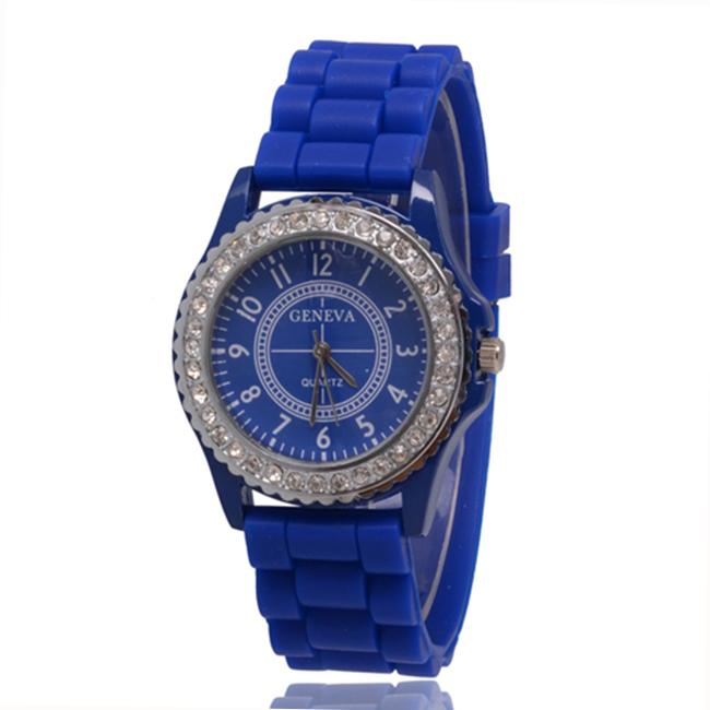 Гаджет  Low Clearance Price Geneva Women Watch Silicone Quartz Wristwatches Sport Relogio Feminino Casual Ladies Fashion 5 Colors None Часы