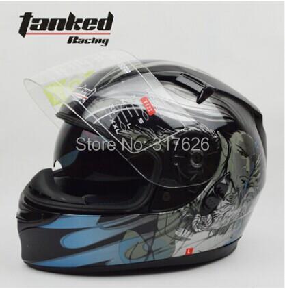 Tanked casco de motocicleta mens motorcycle helmets casco moto,casco motorcycle TK-122 with double visor(China (Mainland))