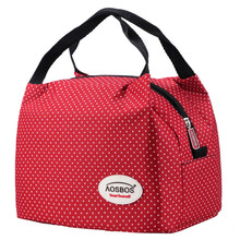 2016 new fashion lancheira lunch bags cooler insulated lunch bag for kids women men insulation  thermal bag lunch bolsa termica(China (Mainland))