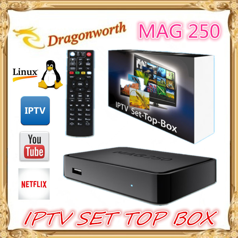High Quality 1pcs Mag250 Linux 2.6.23 System IPTV Set Top Box Processor STi7105