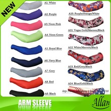 2016 Camo Cooling Lycra Arm Sleeves Sun Protective UV Cover  Variety Color Sports Golf Fishing Arm Warmers 128 colors(China (Mainland))