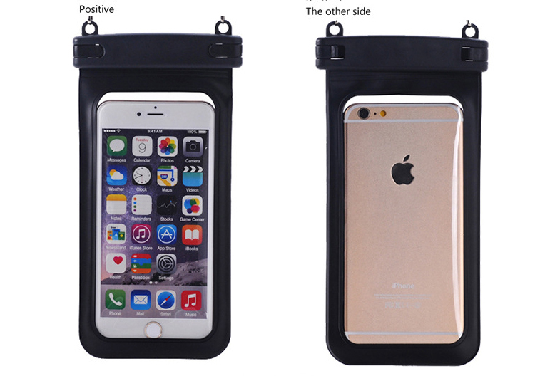 50pcs/l Sealed PVC Waterproof Diving Bag Case Pouch for iPhone 6 6s Plus 5S 5C 5 4S Samsung Galaxy S6/S5/S4/ Samsung Note 4/3/2(China (Mainland))