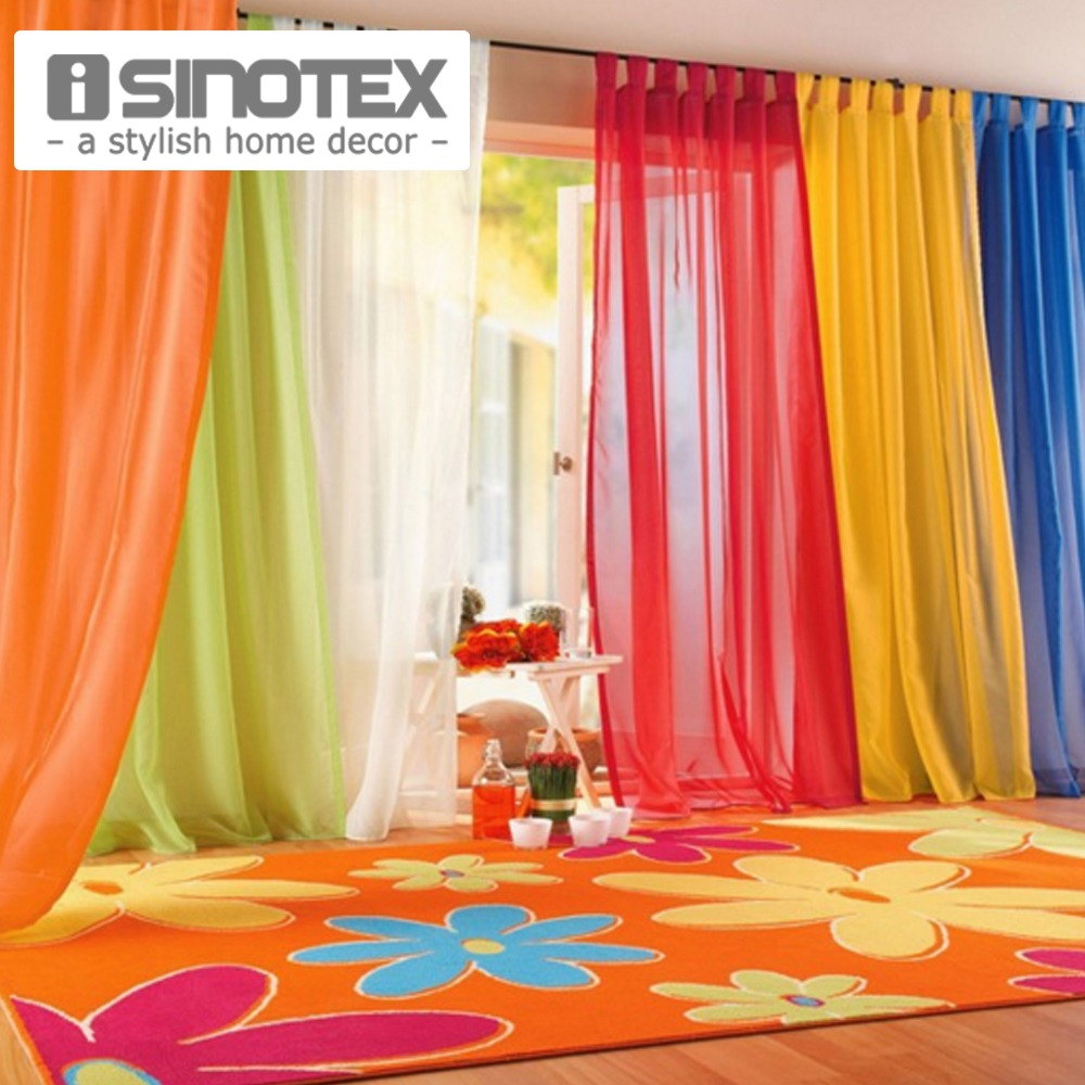 iSINOTEX Window Curtains Hot Sale Solid Color For Living Room Bedroom Curtains Window Home Decor 140*240cm/100*200cm 1PCS(China (Mainland))