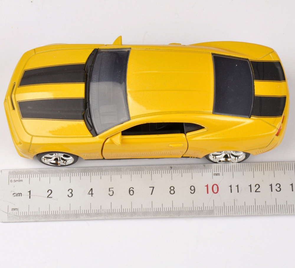 Collectible Gift Jada Car 1/32 Scale Diecast Car Model Yellow 2010 Chevy Popular Camaro SS Model Kids Toys Gift(China (Mainland))