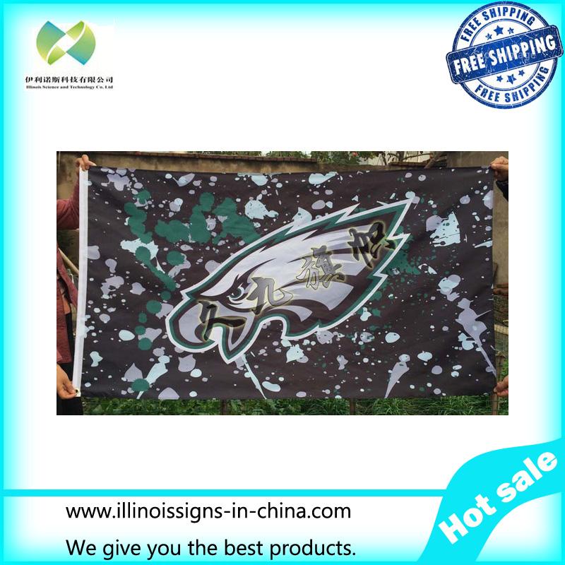 Philadelphia Eagles NFL football team flag For American League pennants 100% polyester high quality(China (Mainland))