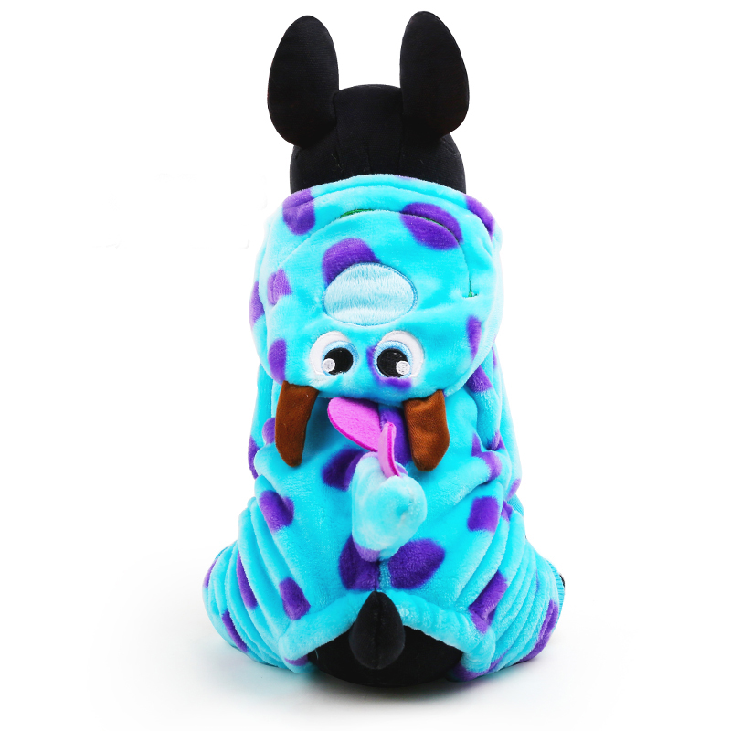 Winter Dog Coats For Chihuahua Yorkshire Dragon Small Dog Apparel Adorable Costume Warm Fleece Dog Coat XXS XS S M L(China (Mainland))