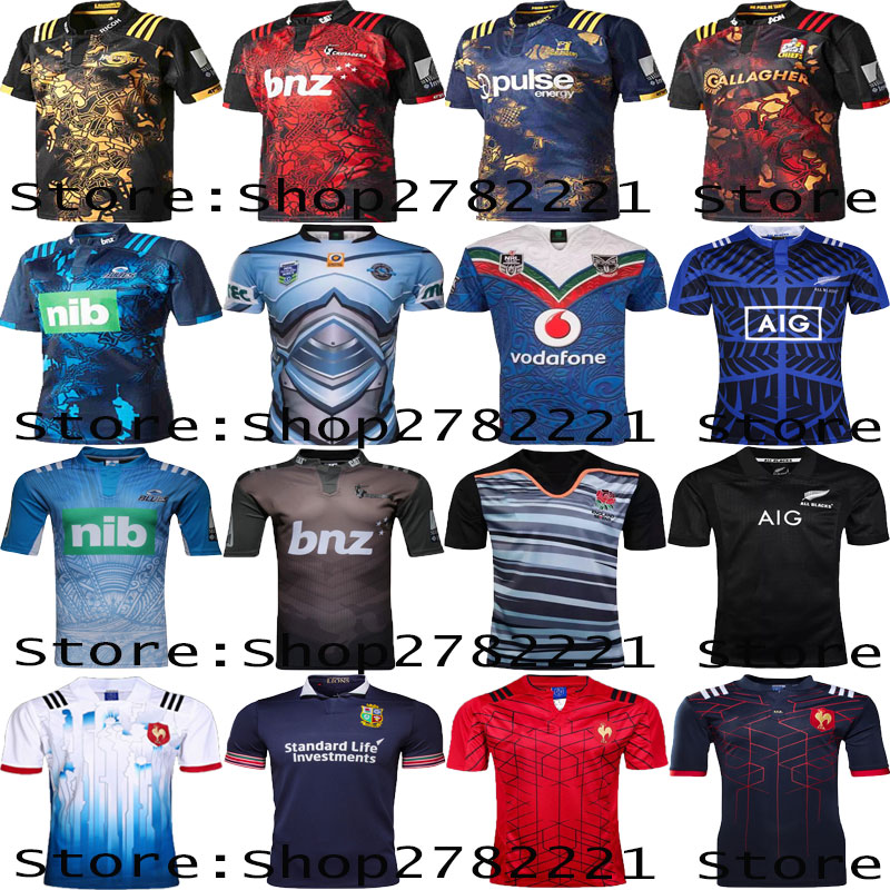 Chiefses Rugby Jersey for adult 2017 18 Men's blueses Home hurricanes Away Top Thailand Quality Rugby Shirts size:S-XXXL(China (Mainland))