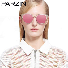 Parzin Polarized Sunglasses Women Tr 90 Female Sun Glasses Vintage Colorful Sunglaes Ladies Shades With Case 9870