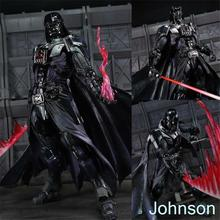 Super Star Wars Variant Play Arts Kai Darth Vader The Black Knight Transformation Hands Gundam Model Action Figure Baby Toys