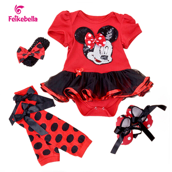 Baby Girls Dress 2016 Fashion Childen Sets Cotton Cartoon Vestidos Infant Party girl christening dresses 4th of July Outfit