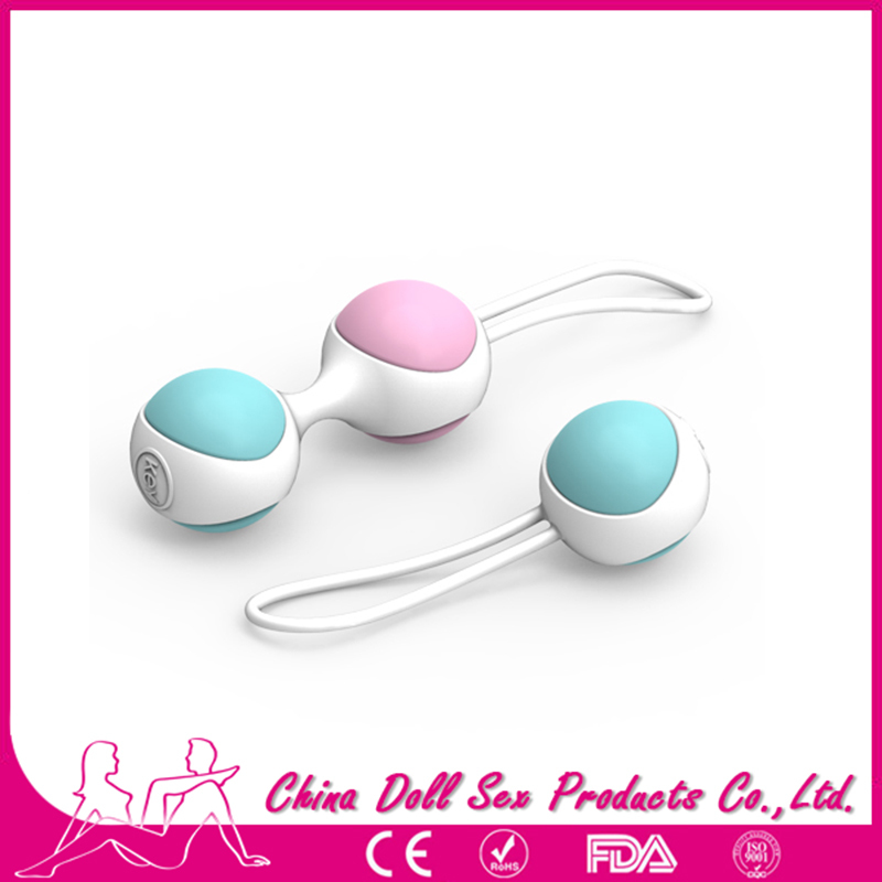 Female Smart Vintage Silicone Ball Weighted Female Kegel Vaginal Tight Exercise Machine Vibrators Sex Toys for Audit Women(China (Mainland))