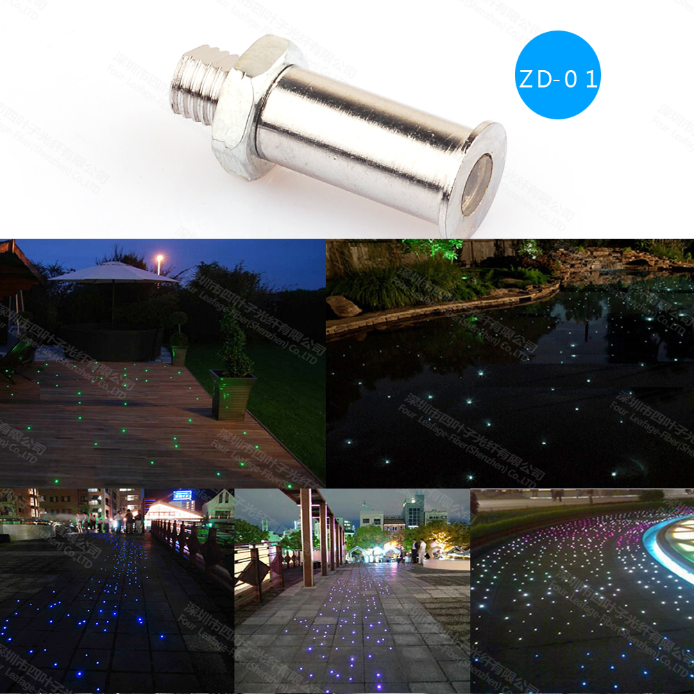 Buy Zd 01waterproof Safely Use Easy Installation Fiber Optic Pool Light End