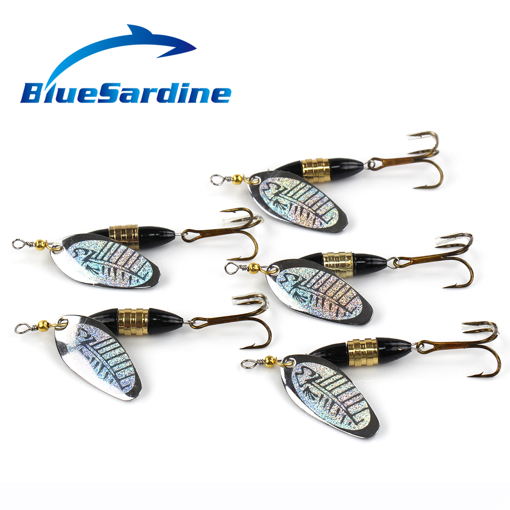 5PCS 16.3G 8.5CM Metal Spinnerbaits Fishing Lure Spinner Bait Fishing Tackle(China (Mainland))