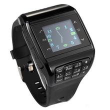 Wrist Watch Cell Phone Dual SIM Card Quad-band Keypad Touch Screen Q3 Phone Watch Black(China (Mainland))