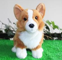 Hot Sale Super Kawaii Plush Welsh Corgi Doll Toys Stuffed Dogs Car Toy Pillow Home Decoration Holiday Gift