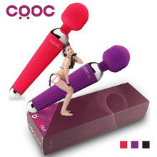 CRDC Potente Orale Vibratori Clit per le Donne 15 Speed USB ricaricabile AV Magic Wand Massager Del Vibratore Giocattoli Adulti Del Sesso per donna(China (Mainland))