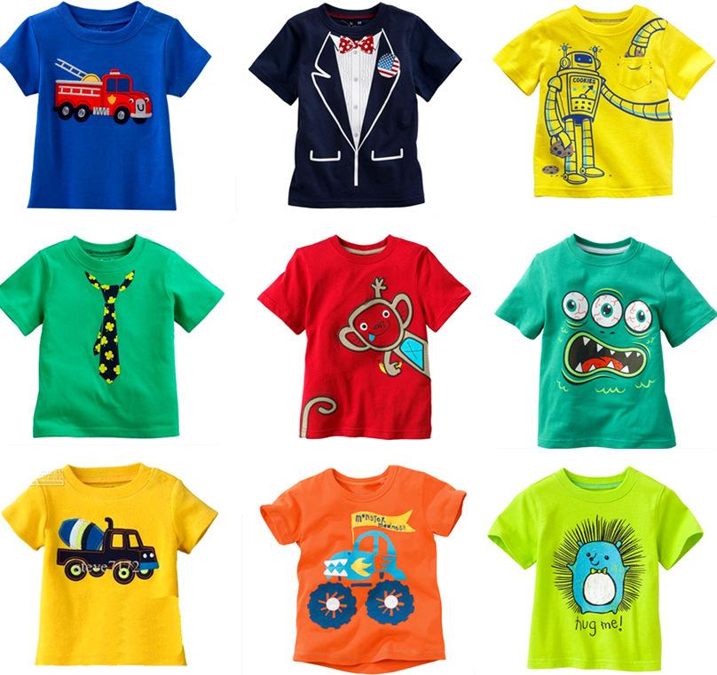 где купить  Футболка для мальчиков Famous brand boys tshirt 2015 100% baby boy t BS boy tshirt  дешево