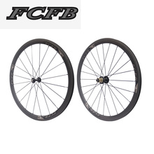 Buy FCFB 700C carbon wheelset 38mm carbon wheel for road bike clincher UD carbon wheels for factory sale ems free shipping for $324.00 in AliExpress store